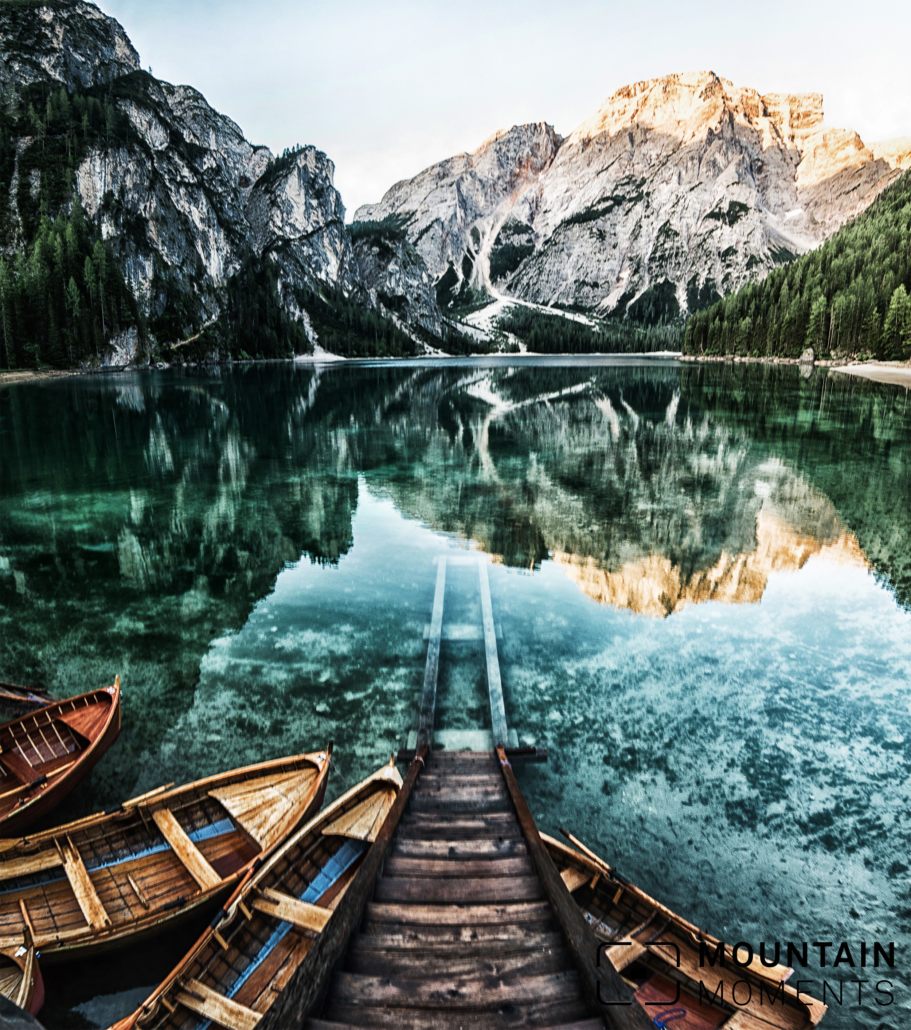 lago di braies, lago di braies photo location, instagram spot dolomites