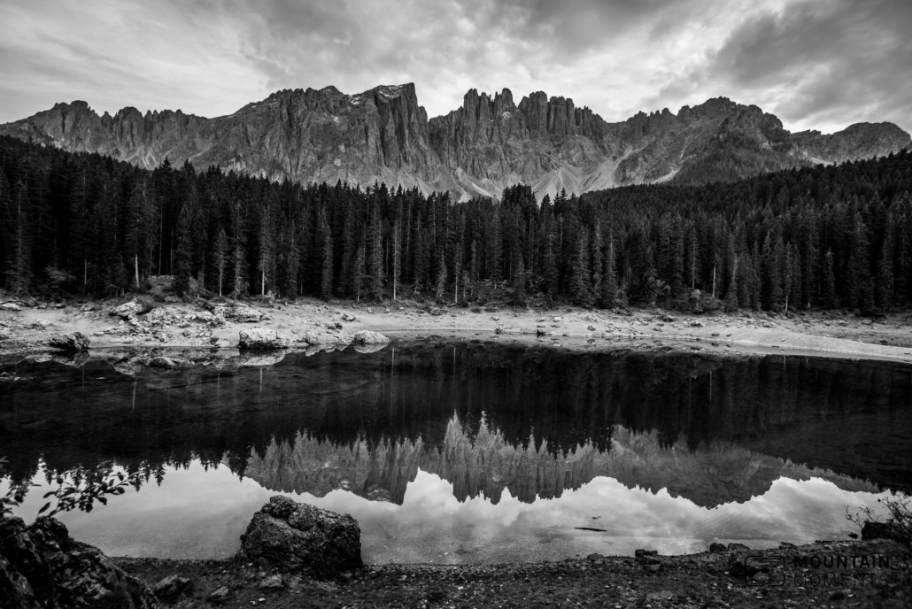 lago di carezza, karer lake photo location