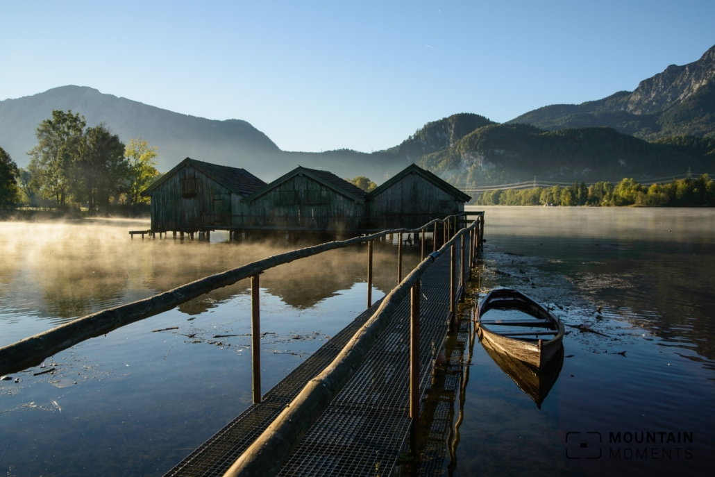 Kochelsee in the morning light